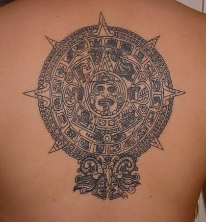 New Tattoos Ideas With Tattoos Art Typically New Aztec Tattoos Designs Pictures Gallery