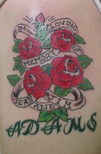 Designs Ideas For In Loving Memory Tattoos 2010 Tattoo Designs