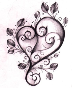 designs-of-heart-tattoos
