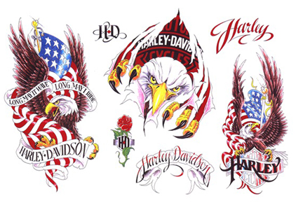 american flag tattoos for men. italian american flag tattoos.