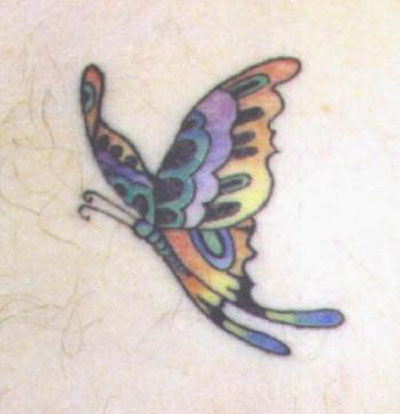 butterfly tattoo ideas. Sweet Butterfly Tattoo Designs