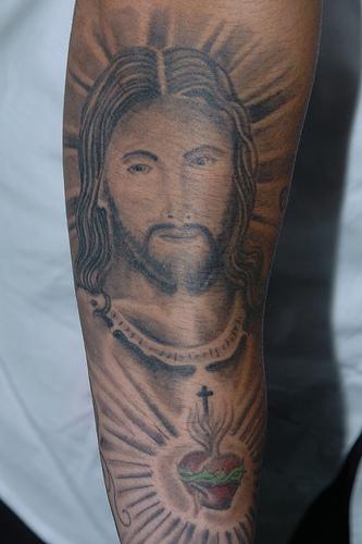free designs of jesus tattoos | 2010 Tattoo Designs