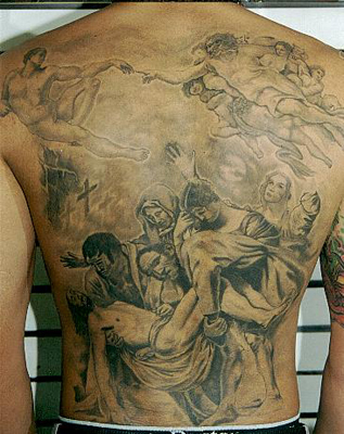 Christian Tattoos on Christian Religious Tattoos    Tattoo Pictures Online