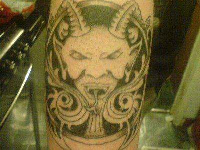 lucky 7 tattoo. Source url:http://darkcatz.blogspot.com/: Size:400x311